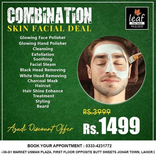 Leaf Hair Salon & Spa - Azadi Deal