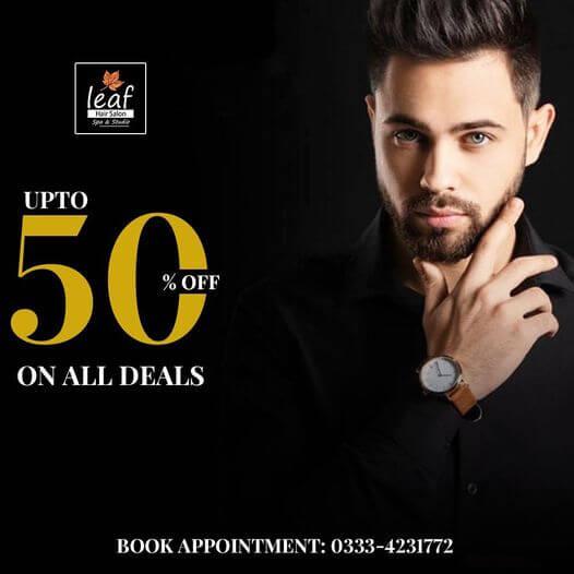 Leaf Hair Salon & Spa - All Deals