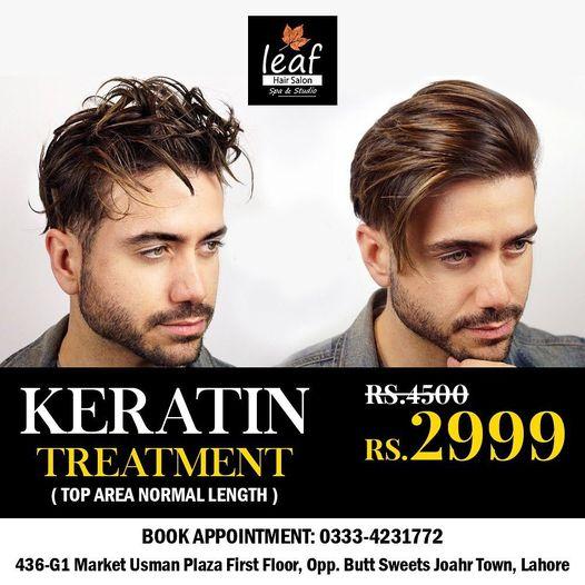 Leaf Hair Salon & Spa - Keratin Treatment Deal