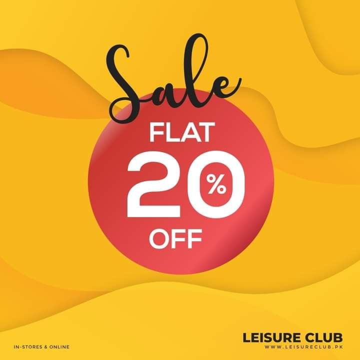 Leisure Club - Ramadan Sale