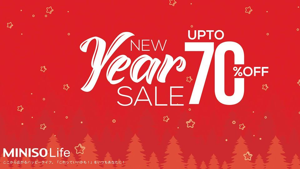 Miniso - New Year Sale
