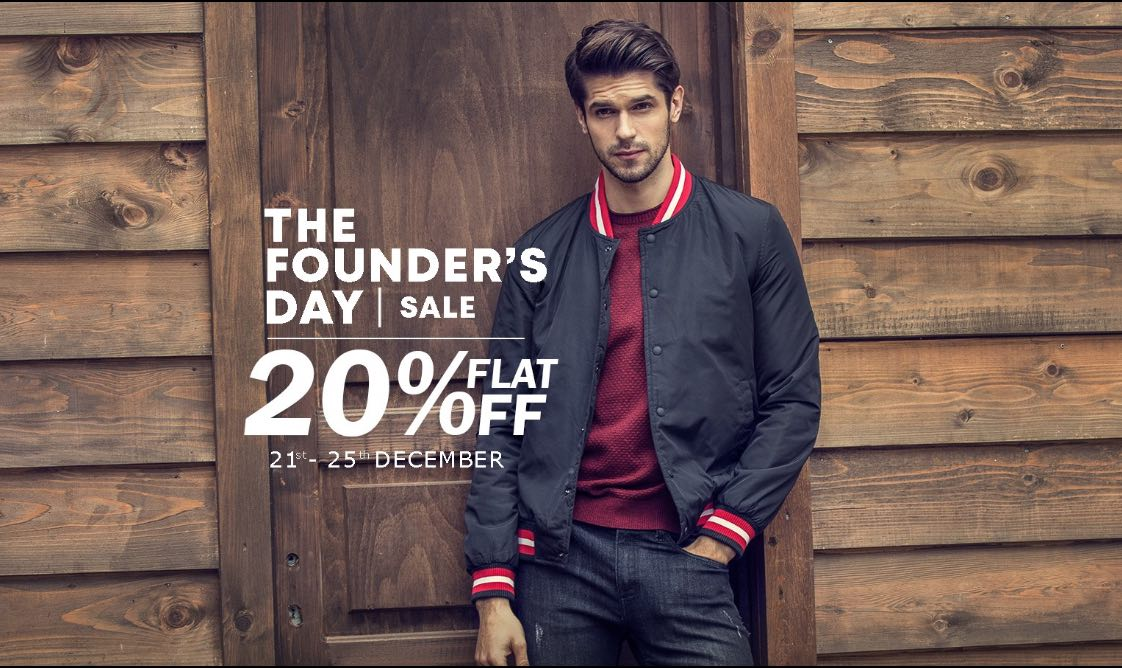 The Founder's Day Sale