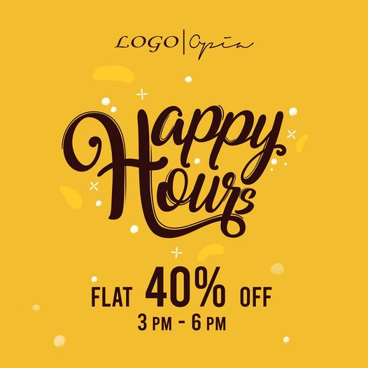 Logo - Happy Hours Sale