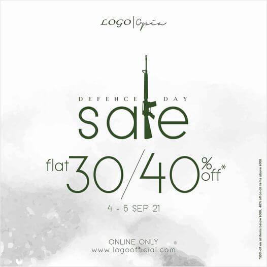 Logo - Defence Day Sale