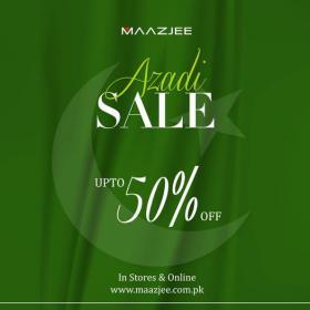 Maazjee - Azadi Sale