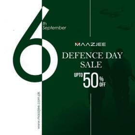 Maazjee - Defence Day Sale