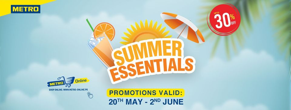 Metro Cash And Carry - Summer Essentials Sale