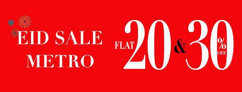 Metro Shoes - Eid Sale