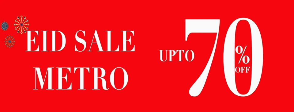 Metro Shoes - Eid Sale