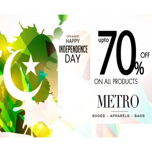 Metro Shoes - Independence Day Sale