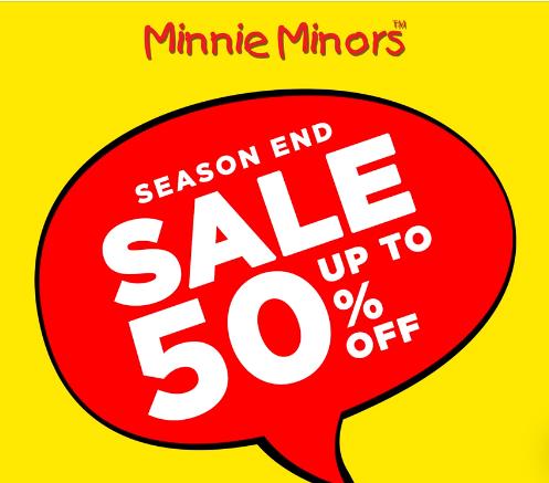 Minnie Minors - End Of Season Sale