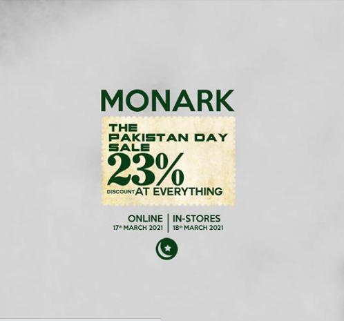 Monark - Pakistan Day Sale