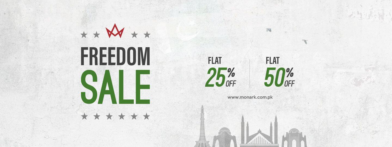 Monark - Freedom Sale