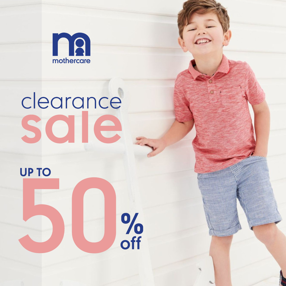Mothercare - Clearance Sale