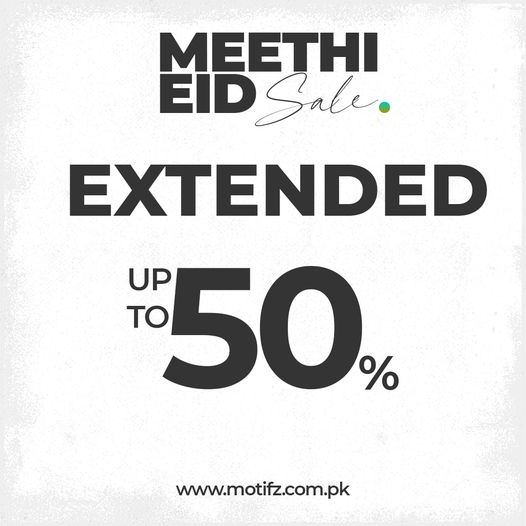 Motifz - Meethi Eid Sale