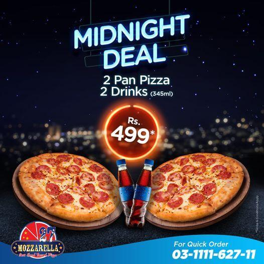 Mozzarella 27 - Midnight Deal