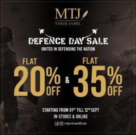 MTJ - Tariq Jamil - Defence Day Sale