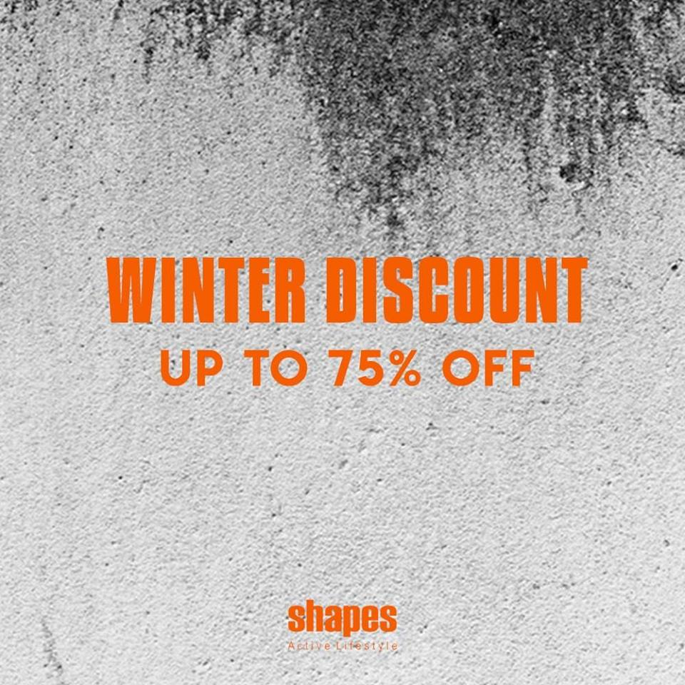 Shapes - Winter Discount