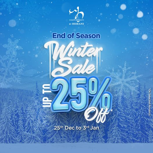Packages Mall - End Of Season Winnter Sale