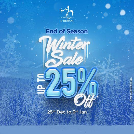 Packages Mall - End Of Season Winnter Sale