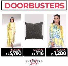 Sapphire Doorbusters Offer!