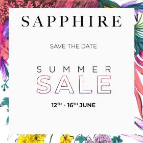 Sapphire Summer Sale