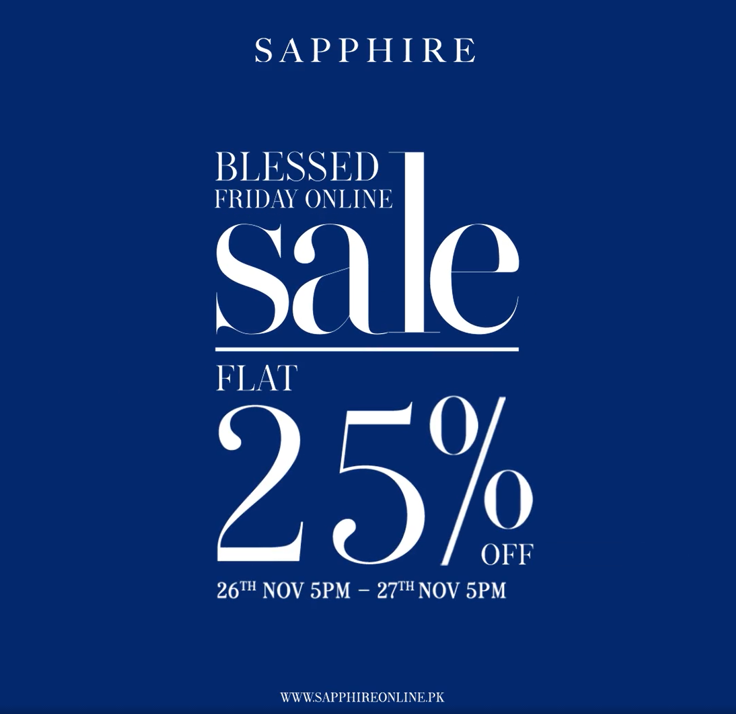 Sapphire - Blessed Friday Sale