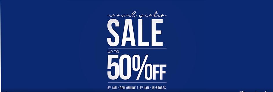 Sapphire - Winter Sale