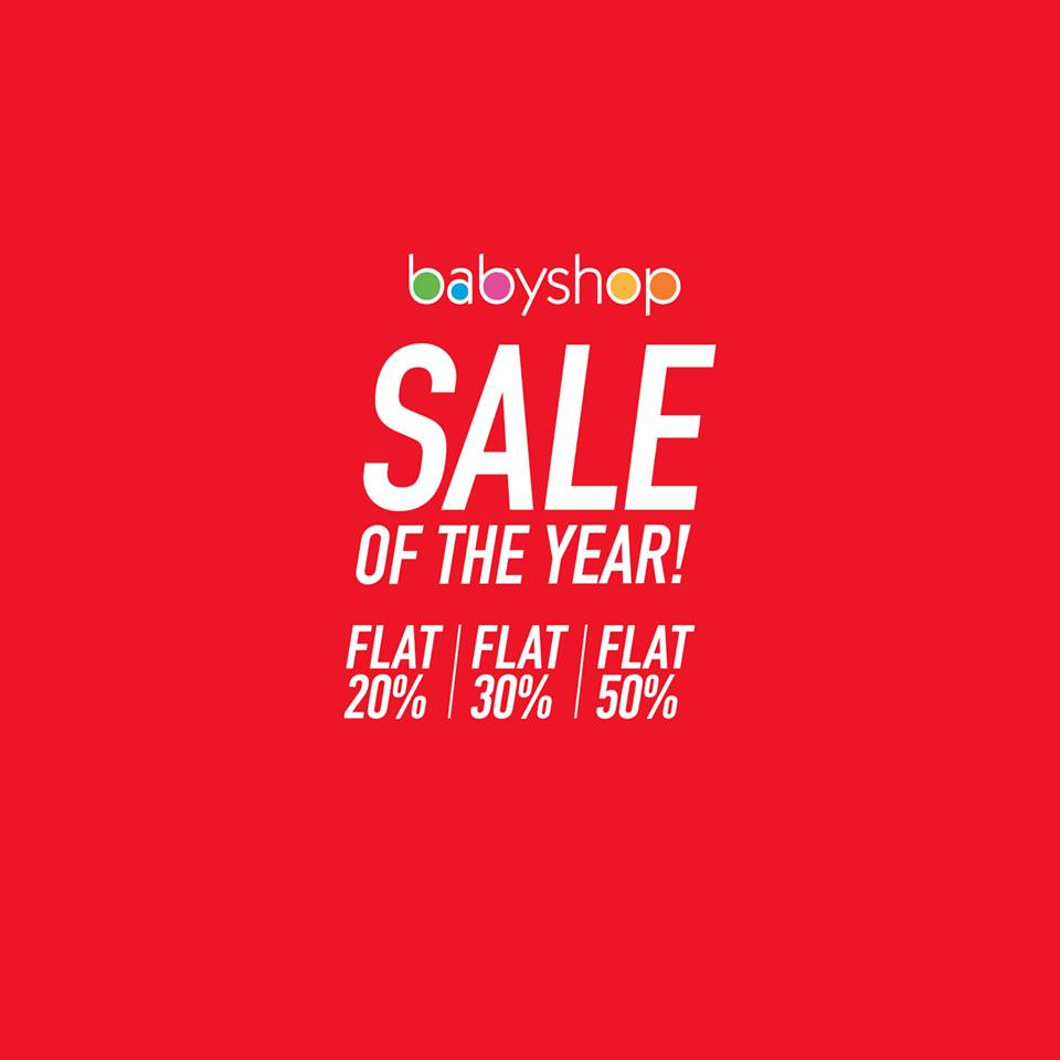 Babyshop - Sale Of The Year
