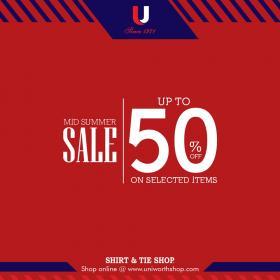 Uniworth - Mid Summer Sale