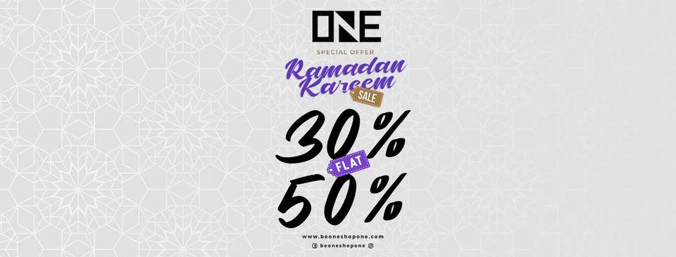 ONE PK - Ramadan Sale
