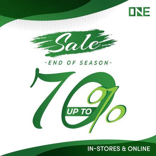 ONE PK - End Of Season Sale