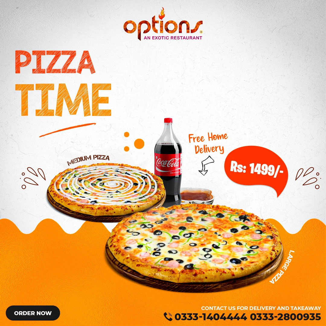 Options - Pizza Deal