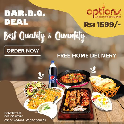 Options - BarBQ Deal