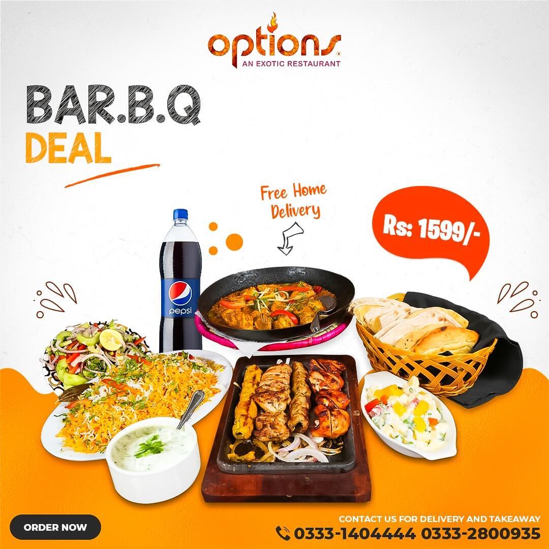 Options - BBQ Deal