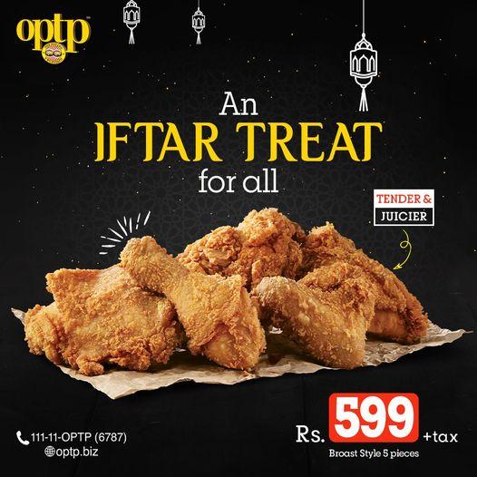 Optp - Iftar Deal