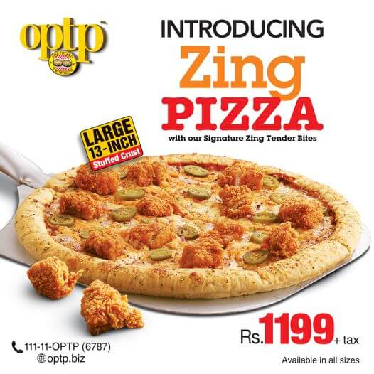 Optp - New Zing Pizza Deal