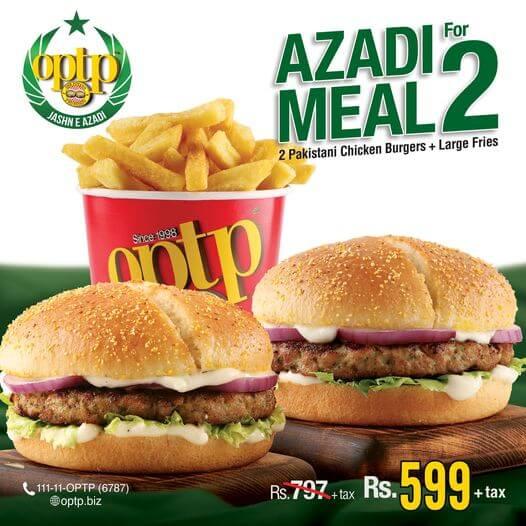 Optp - Azadi Deal