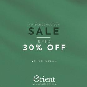 Orient - Independence Day Sale