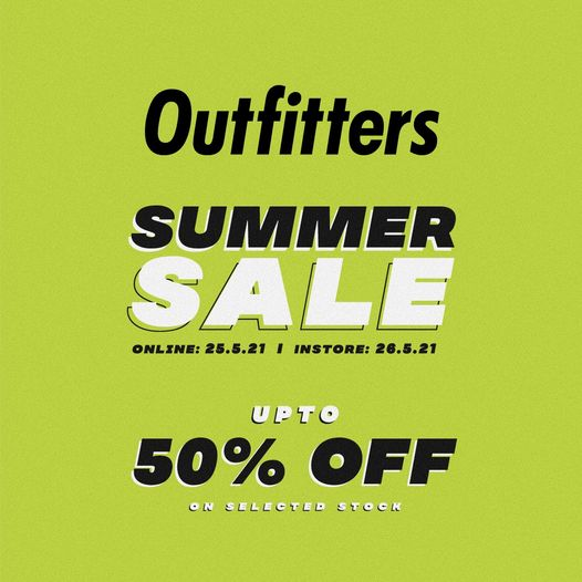 Outfitters - Summer Sale