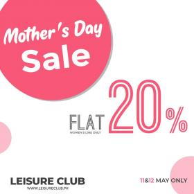 Leisure Club Mother's Day Sale