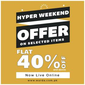 Warda - Warda Hyper Weekend Offer