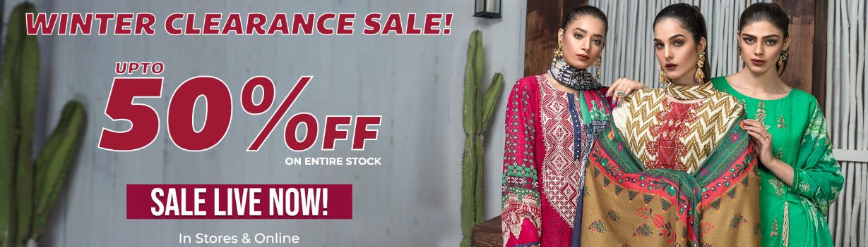 Warda Winter Sale