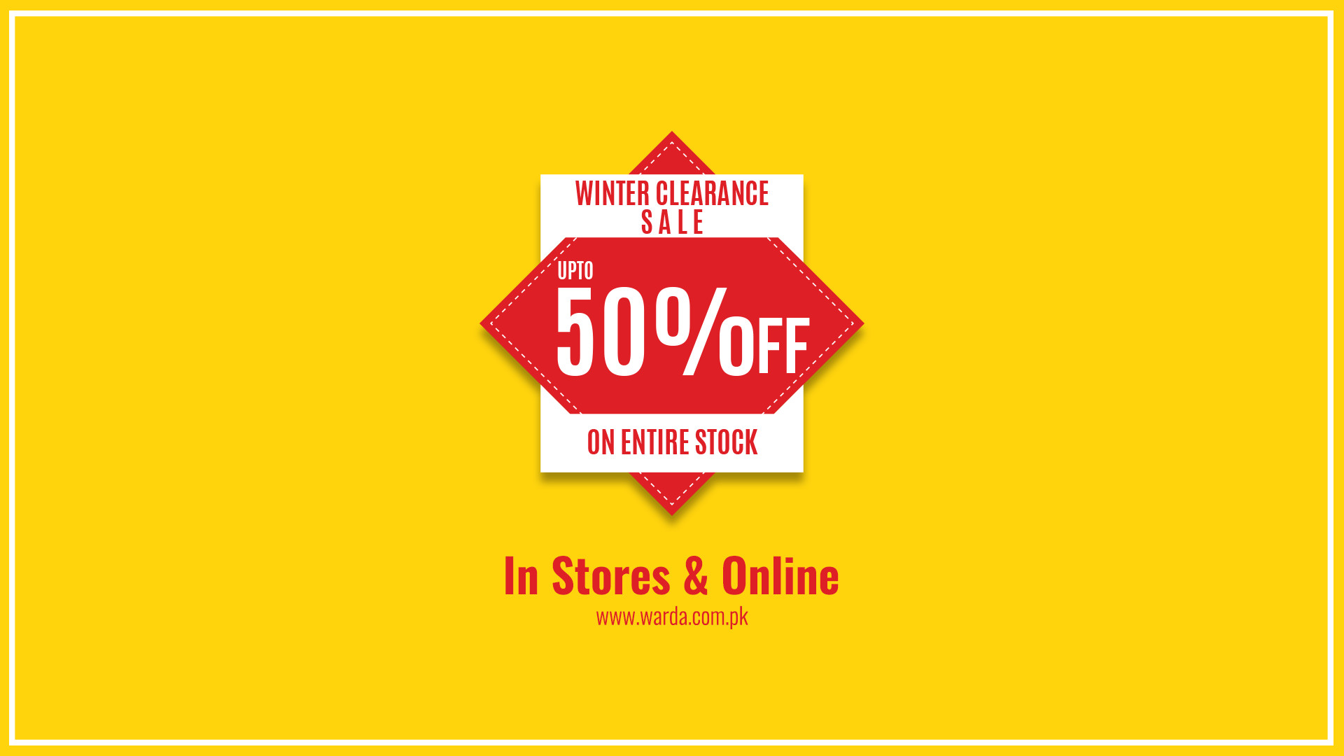 Warda - Winter Clearance Sale