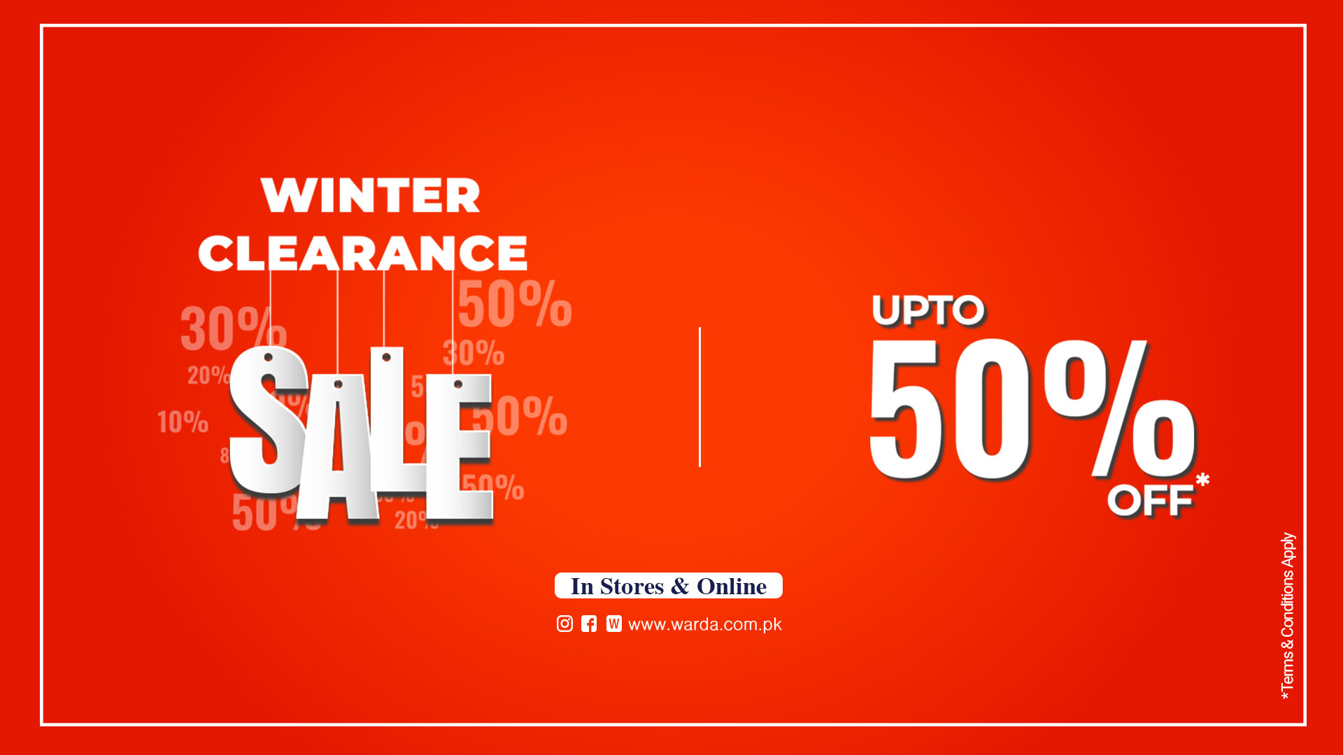 Warda - Great Winter Clearance SALE