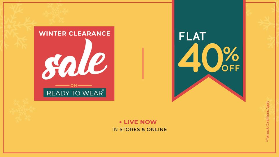 Warda - Big Winter Clearance Sale