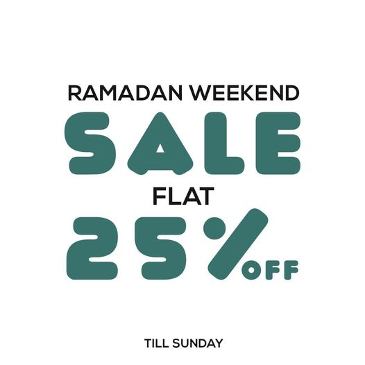 Pepperland - Ramadan Weekend Sale