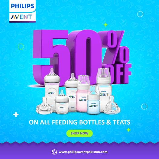 Philips Avent - PK - Entire Feeding Bottles Sale