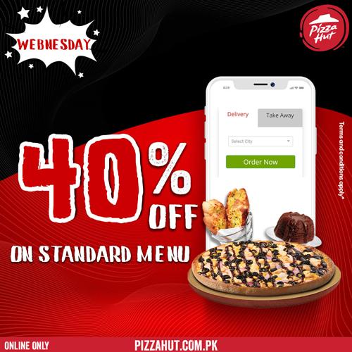 Pizza Hut - Wednesday Deal