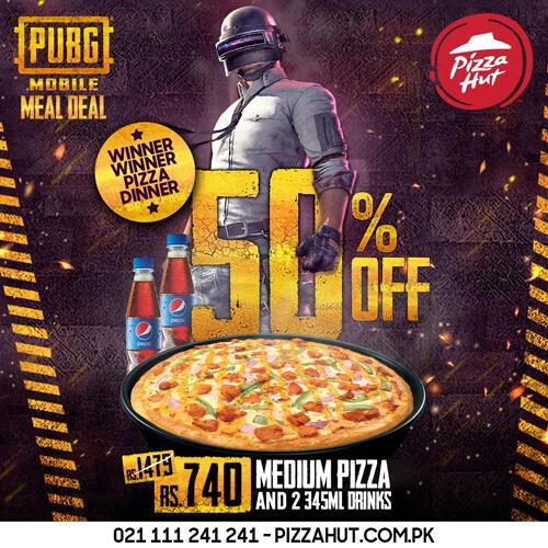 Pizza Hut - PUBG Mobile Meal Deal